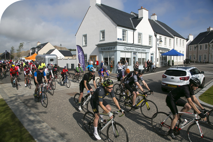 Hundreds of cyclist enthusiasts set to return for the Chapelton Bike Ride