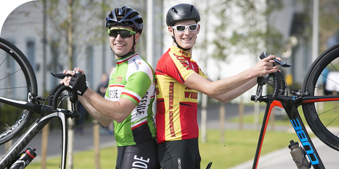 Cyclists enjoy sunshine and raise charity cash
